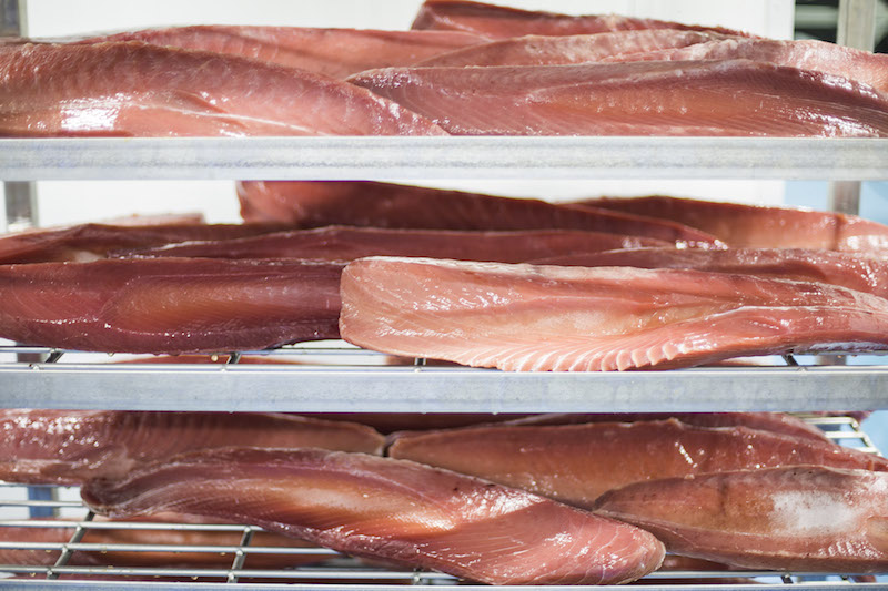 Features of deep-frozen tuna